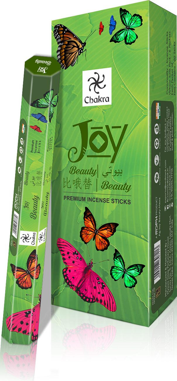 Zed Black Chakra  Joy-BEAUTY( Pack of 6) Hexa