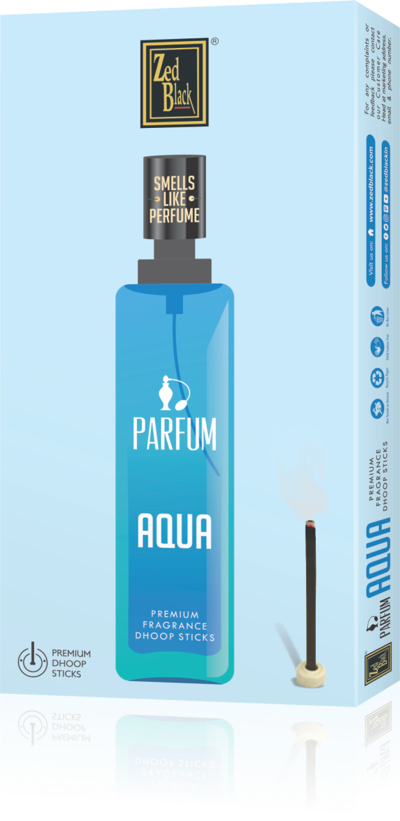 ZED BLACK PARFUM DHOOP STICKS -AQUA - The KO Shop Australia Pty Ltd