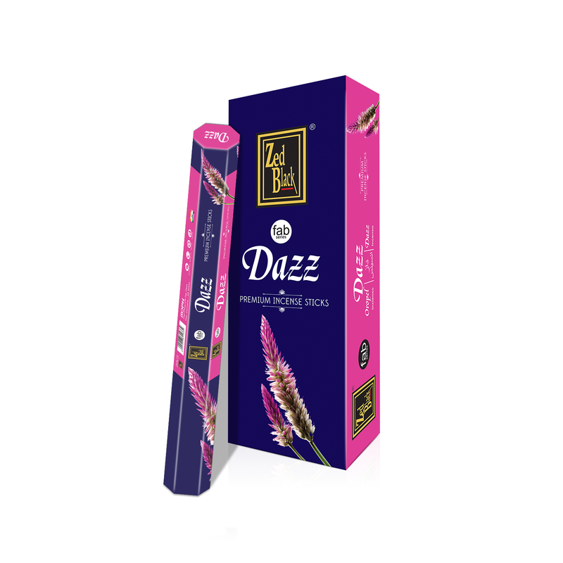 ZED BLACK FAB DAZZ - The KO Shop Australia Wholesale Suppliers Distributors of New Age Products & Natural Incense
