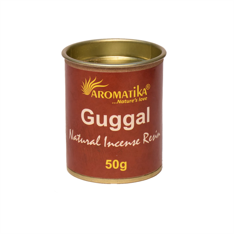 Aromatika Resin Jar Guggal 50 Gms (Pack of 6)