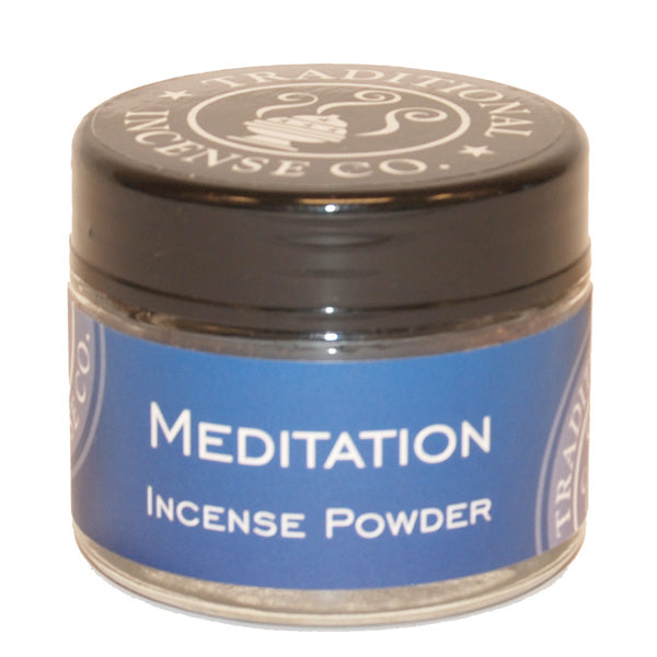 Meditation- 20gm Glass Jar - The KO Shop Australia Wholesale Suppliers Distributors of New Age Products & Natural Incense