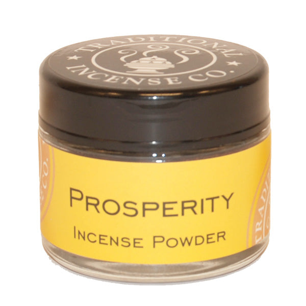 Prosperity- 20gm Glass Jar - The KO Shop Australia Wholesale Suppliers Distributors of New Age Products & Natural Incense