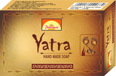 Yatra Hand Made Soap 100g (ea) - The KO Shop Australia New Age Productd