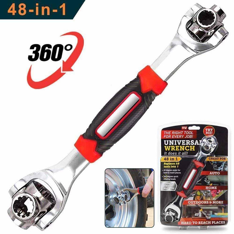 48-In-1 Tiger Wrench Universal Wrench