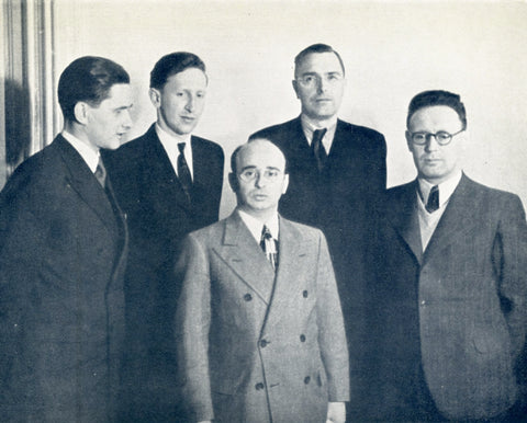 All five participants of the world championship 1948.