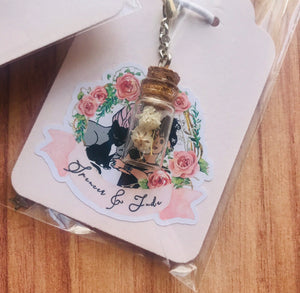 Baby's Breath Vial Charm