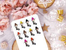 Kettlebell Workout - Doodle Planner Stickers