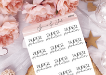 Super Productive - Script Planner Stickers