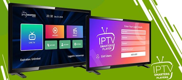 "Our famous app ""IPTV Smarters"" on most of Smart TV's"