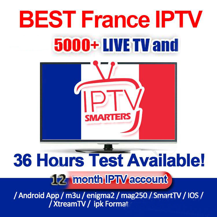 IPTV Smarters subscription provider for 4000+ TV Channels