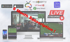 "6 Month - Global ""Worldwide"" IPTV with more than 4000+ Channels and 4000+ VOD"