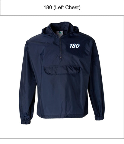 180 Elite Baseball | Adult/Unisex | Augusta Sportswear – Packable Half-Zip Pullover – 3130