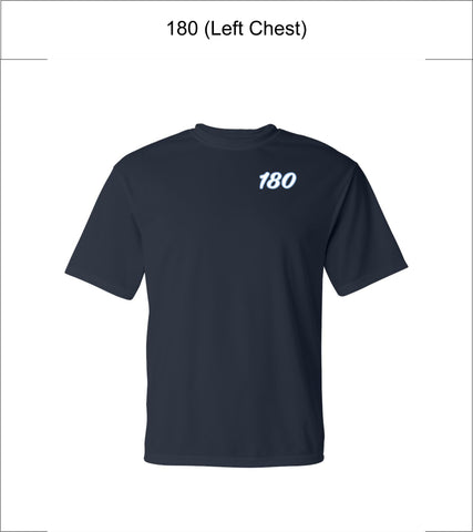 180 Elite Baseball | Youth/Adult/Unisex | C2 Sport – Performance T-Shirt – 5100