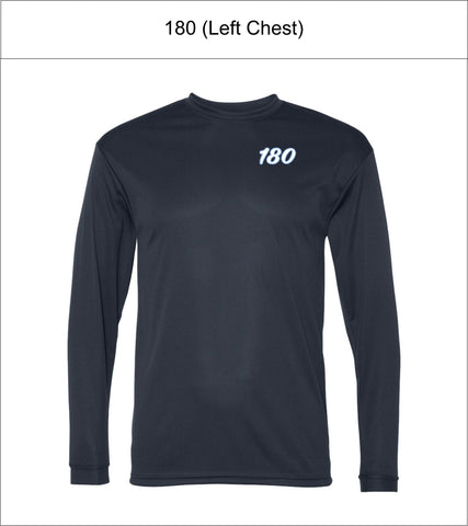 180 Elite Baseball | Youth/Adult/Unisex | C2 Sport – Performance Long Sleeve T-Shirt – 5104
