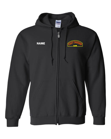 Cozy Tavern - Gildan - Heavy Blend Full-Zip Hooded Sweatshirt