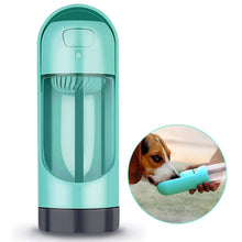 Load image into Gallery viewer,  Portable Pet Travel Water Bottle Dog Water Bottle With Filter Small and portable Dog Travel Water Drinking Bottle Outdoor for dog and cat