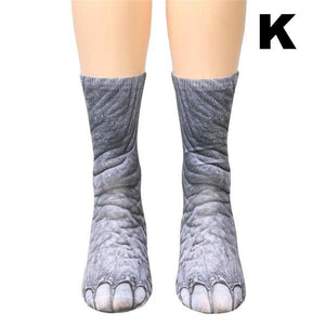 seen the socks that turn your feet into chicken feet