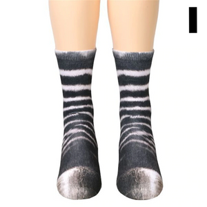 These funny animal paw socks from What on Earth turn your feet into ..