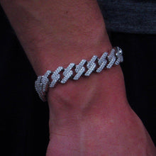 Load image into Gallery viewer, 8 inch Bracelet Diamond Cuban