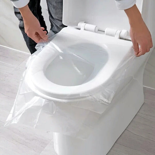 50 PCS Lot Travel Disposable Toilet Seat Cover