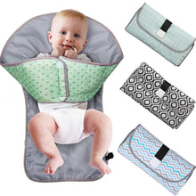 Load image into Gallery viewer, Portable Diaper Changing Mat Baby