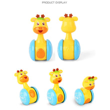 Load image into Gallery viewer, baby,baby toys,baby rattle,toys,baby doll,baby rattles giraffe tumbler moveable sweet,tumbler doll,rattles,baby toy,baby alive,baby shaker,rattle baby toy,baby rattles,baby playing with tumbler toy,deer baby rattles,baby doll talks,baby doll crawls,tumbler toy,baby dolls,best baby toys,cute baby toys,diy tumbler doll room,tumbler toys,rattle,best toys for baby,baby walkers