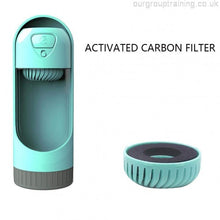 Load image into Gallery viewer, Adjustable Portable Pet Water Bottle Dispenser