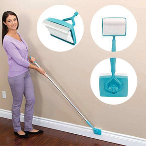 Super easy and fast way to have your baseboard cleaned without bending