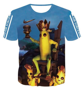 Dry Fit Luxury Unisex T-Shirt Banana