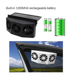 Car Solar Energy Ventilator Window