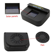 Load image into Gallery viewer, Auto fan solar powered Car ventilation system