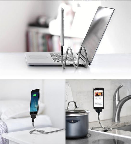 Flexible Smart Phone Charger Stand