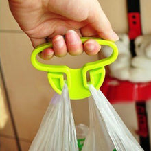 Load image into Gallery viewer, Carry food machine Ergonomic shopping hook rails good helper plastic Weight capacity shopping bag Hooks Random color