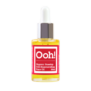 Oils of Heaven Organic Rosehip Cell-Regenerating Face Oil 30ml. Organic Rosehip oil is a clear yellow colour and is rich in vitamins C, K, and A as well as oleic acid, linolenic acid, and linoleic acid. Use Organic Rosehip oil as part of your daily skincare routine to regenerate cells in all areas such as scars, stretch marks or just to smooth fine lines and wrinkles. Organic beauty. Vegan. Vegan Beauty. Flawless Organics. Cruelty Free. Against animal cruelty. Award Winning. Natural. Makeup.