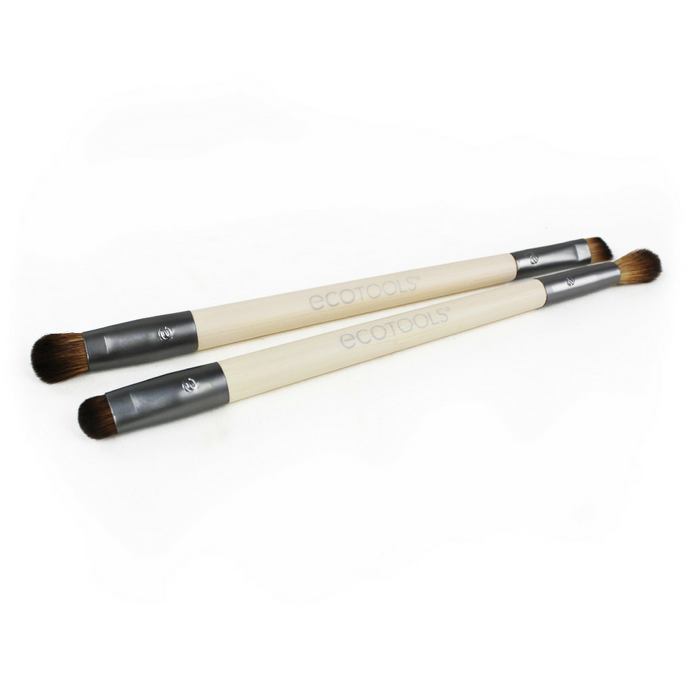 EcoTools Eye Enhancing Set. The Enhancing Eye Set is designed with 4 brush heads to shade, define, blend and smudge. The set will help you to create and complete any look. Organic beauty. Vegan. Vegan Beauty. Flawless Organics. Cruelty Free. Against animal cruelty. Award Winning. Natural. Makeup.  After sourcing recycled materials, renewable bamboo and better manufacturing processes, in 2007, EcoTools® was born.