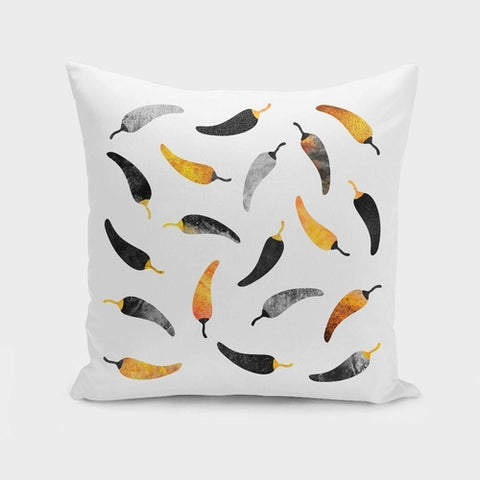 Chili Pepper Pattern   Cushion/Pillow