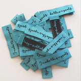 *WOVEN NOVELTY LABELS - I MADE THIS MYSELF