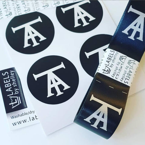 *STICKER LABELS - 44mm CIRCLES [MATTE OR GLOSS PAPER]