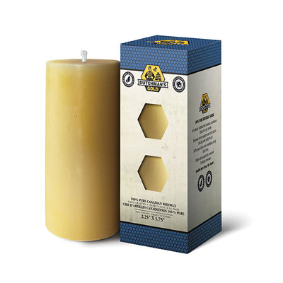 Beeswax Pillar