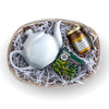 Simple Pleasures Tea & Honey Gift Basket