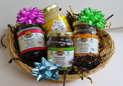 Honey Sampler Gift Basket