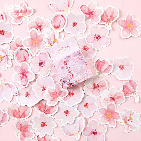 Cherry Blossom Stickers - 45 per pack