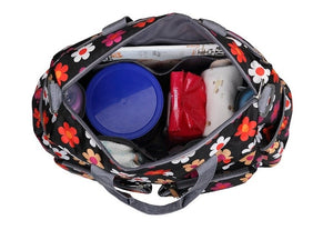 Insular Baby Nappy Bag internal view