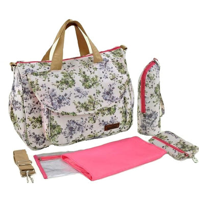 Insular Baby Nappy Bag Floral design