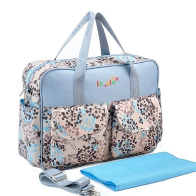 Insular Baby Nappy Bag Floral dots design
