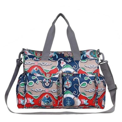 Insular baby nappy bag trendy print