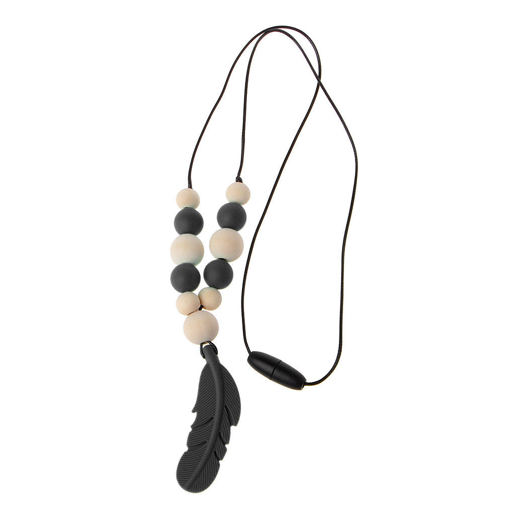 FREE Silicone Feather Teething Necklace with every Nappy Bag Purchase! Simply add to purchase