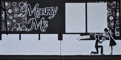 Marry Me - 12x12 Scrapbook Page Kit
