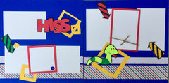 Hiss - 12x12 Scrapbook Page Kit