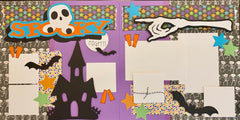 Spooky Night - 12x12 Scrapbook Page Kit